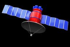 Baumuster eines künstlichen Satelliten Lizenzfreie Stockfotografie