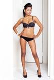 Baumuster im Bikini Stockfotos