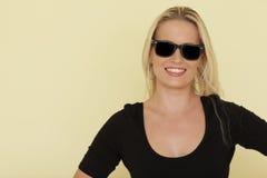 Baumuster mit Sonnenbrillen Stockfoto