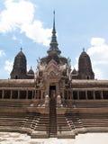 Baumuster von Angkor Wat Stockfoto
