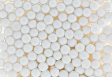 Baumwolle knospt Hintergrund Lizenzfreies Stockfoto