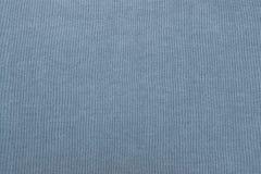 Baumwollgewebe der grau-blauen Farbnahaufnahme Lizenzfreies Stockfoto