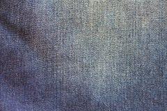 Baumwollgewebe eines Jeansdetails lizenzfreies stockbild