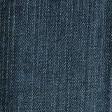 Baumwollgewebe eines Jeansdetails Stockfotografie