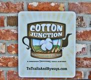Baumwollkreuzung, entdecken Tennessee lizenzfreie stockfotos