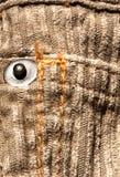 Baumwollsamtgewebe lizenzfreies stockfoto