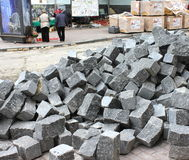 Baupflasterung Lizenzfreies Stockbild