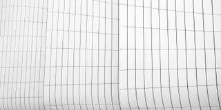 Bauplatten-Zusammenfassungslinien in der Architektur lizenzfreie stockbilder
