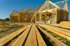 Bausektor Lizenzfreies Stockfoto