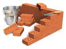Bausektorkonzept lizenzfreie abbildung