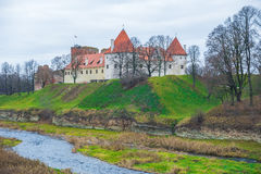Bauska, old castle. Stock Photos