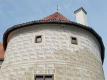 Bauska-Schloss (Lettland) Stockfotografie