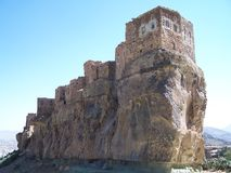 baussbeit nära den sanaa byn yemen royaltyfria bilder