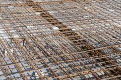 Baustahlstangen stockfoto
