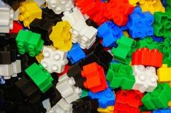 Baustein-Spielzeug Lizenzfreies Stockfoto