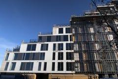 Baustelle in Aarhus Stockbild