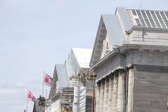Baustelle bei Museumsinsel in Berlin Stockfoto