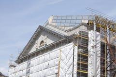 Baustelle bei Museumsinsel in Berlin Lizenzfreies Stockfoto