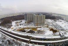 Baustelle in der Stadt Lizenzfreie Stockbilder