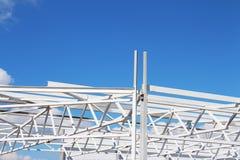 Baustelle, Design des Metalls Stockbilder
