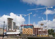 Baustelle. Ipswich-Ufergegend, Suffolk, Großbritannien Stockfotos