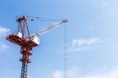 Baustelle mit blauem Himmel Lizenzfreies Stockbild