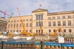 Baustelle, neues Museum, Berlin-Mitte Lizenzfreies Stockbild