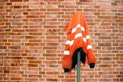 Baustelle-Schutzjacke Lizenzfreie Stockfotografie