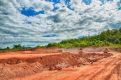 Baustelle und Bautätigkeit Stockfotografie