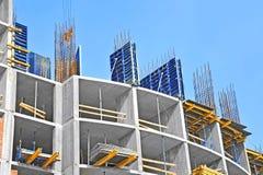 Baustellearbeit Stockbild