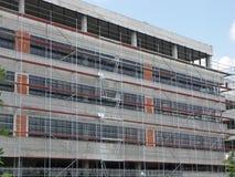 Baustellebaugerüst Lizenzfreies Stockbild
