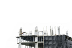 Baustellehintergrund stockfotos