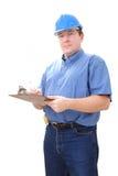 Baustellemanager Stockfotos