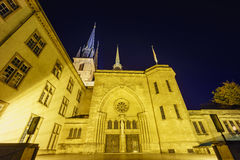 The bautiful Cathedrale Notre Dame Royalty Free Stock Images