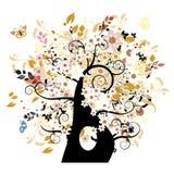 Bautiful floral tree Royalty Free Stock Photo