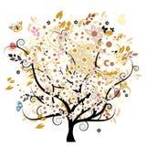 Bautiful floral tree stock photos