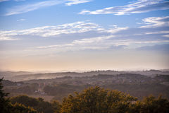 Bautiful krajobraz Fotografia Stock