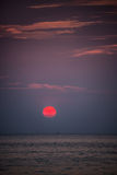 Bautiful Red Sunset. Koh Lipe Tropical island. Thailand. Royalty Free Stock Photos