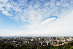 Bautiful scenes with nice background. In Taiwan Royalty Free Stock Photo