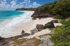 Bautiful and tropical beach Foul Bay. Royalty Free Stock Photos