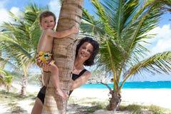 Bautiful and tropical beach Foul Bay. Bautiful and tropical beach Foul Bay, Barbados, Caribbean royalty free stock image