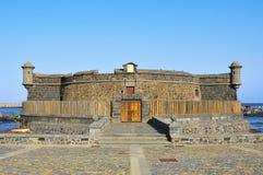 bautista castillo de juan san Arkivbild