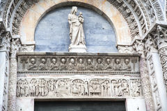 Bautisterio de Pisa Fotos de archivo libres de regalías
