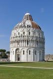 Bautisterio de Pisa, Toscana, Italia Foto de archivo libre de regalías
