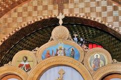 Bautizo en la iglesia Imagen de archivo