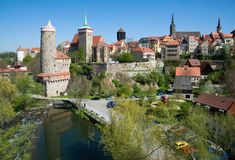 Bautzen, Γερμανία Στοκ Φωτογραφίες