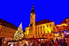 Bautzen bożych narodzeń rynek Obrazy Stock