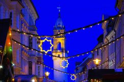 Bautzen christmas market Royalty Free Stock Photography
