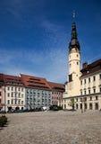 Bautzen city main square Royalty Free Stock Image