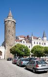 Bautzen,Germany. Tower Wendischerturm in city Bautzen,Germany Royalty Free Stock Image